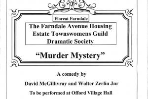 Farndale Murder Mystery a